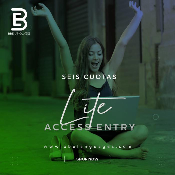 Entry Lite 6 cuotas